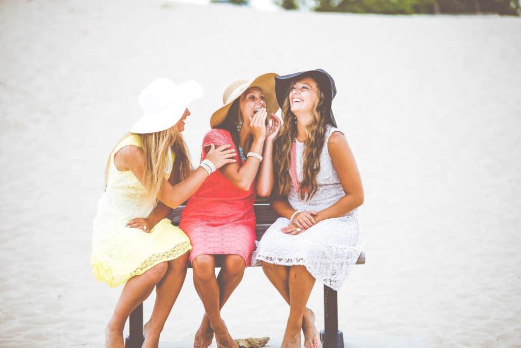 ladies talking
