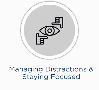 time management tips - Managing Distractions & Staying Focused