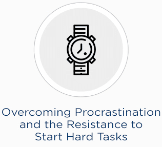 time management tips - Overcoming Procrastination and the Resistance to Start Hard Tasks