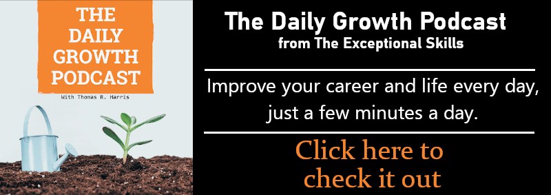 Check out our new podcast, The Daily Growth Podcast