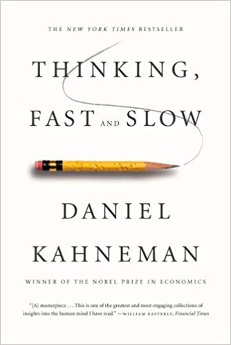 Top 5 Decision Making Books - Thinking Fast and Slow cover