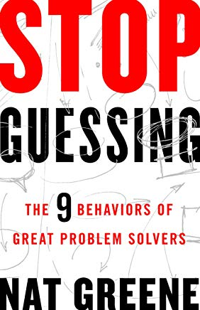 Top, best problem solving books - Stop Guessing cover