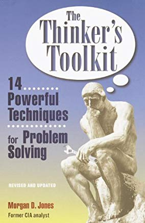 Top, best problem solving books - The Thinker's Toolkit cover