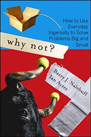 Top, best problem solving books - Why Not? cover